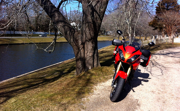 Triumph Tiger in East Hampton