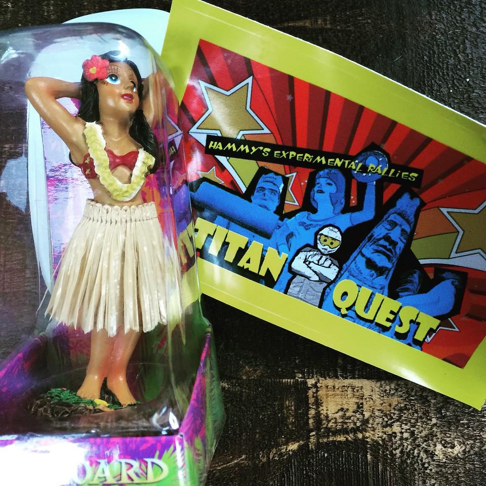 fuzzygalore hula girl award