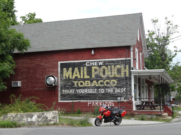 Layton Store NJ Mail Pouch Ad