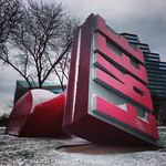 Claes Oldenburg - FREE Stamp - Cleveland, Ohio