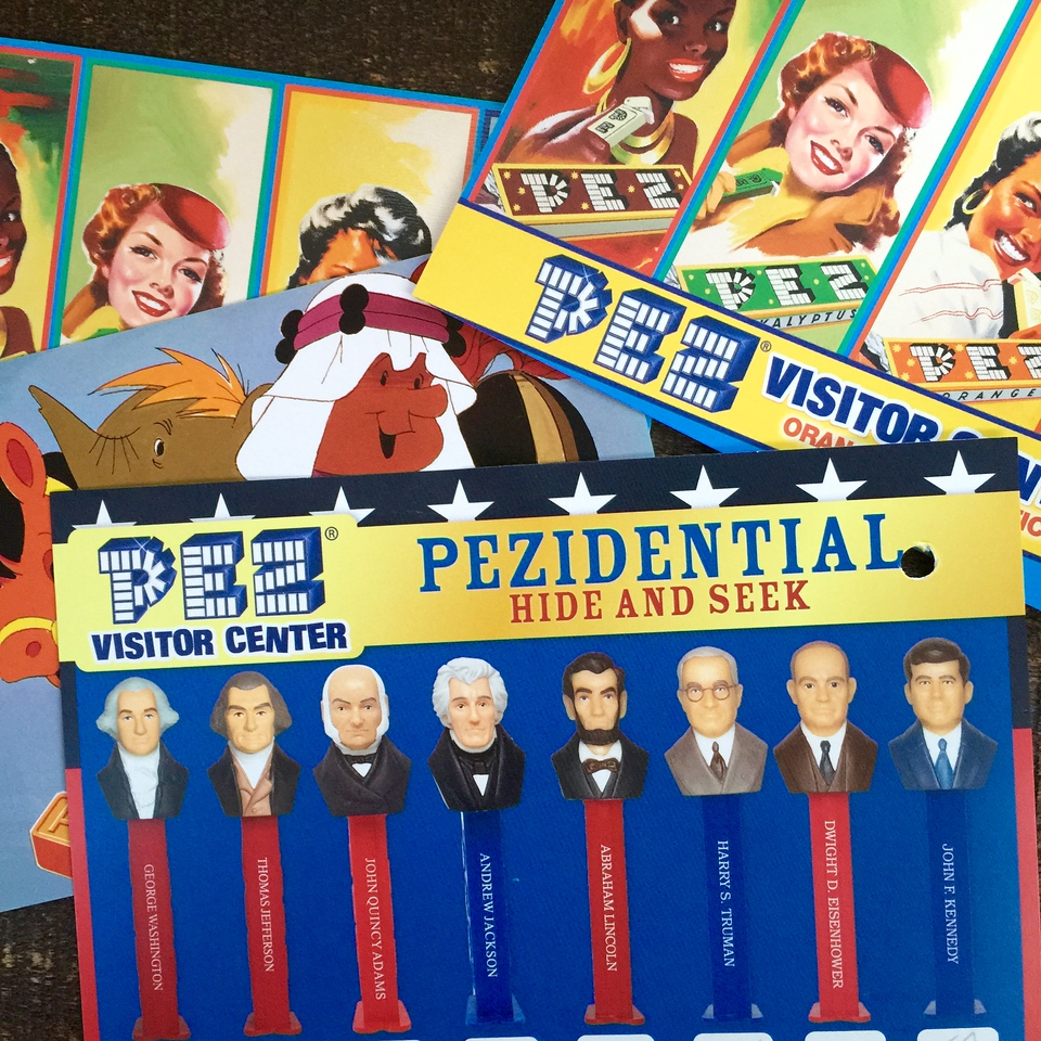 pez visitors center game card