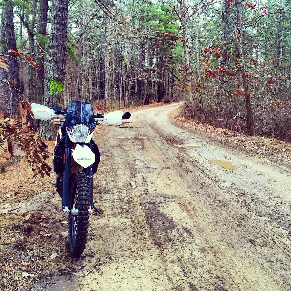 fuzzygalore 690 enduro pine barrens