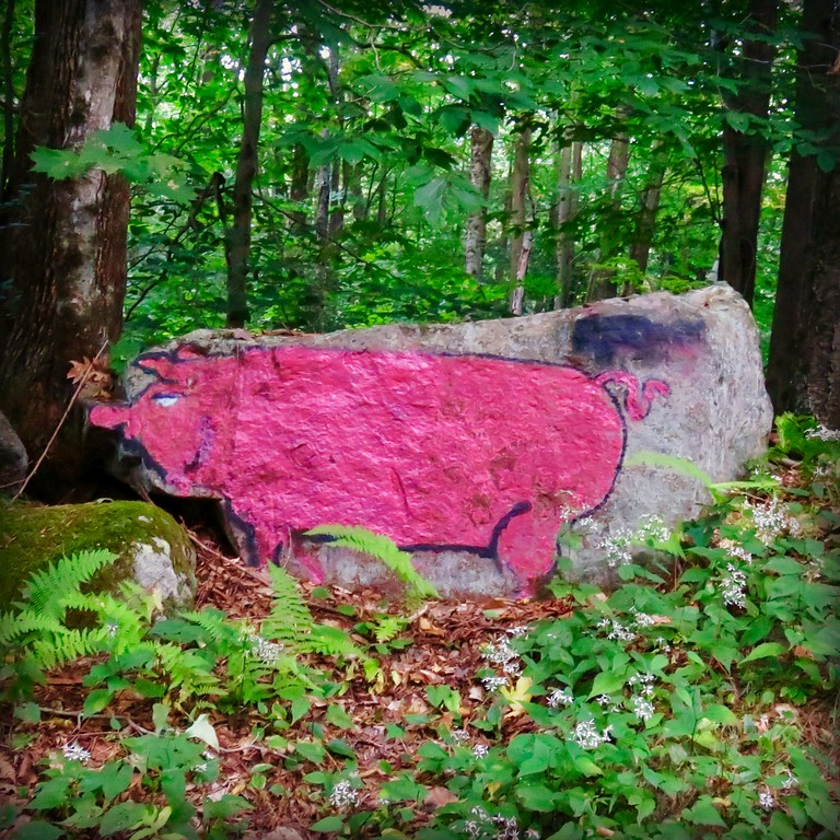 pig rock granville massachussetts